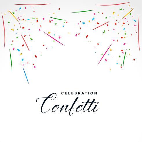 sfondo di celebrazione festa esplosione di confetti