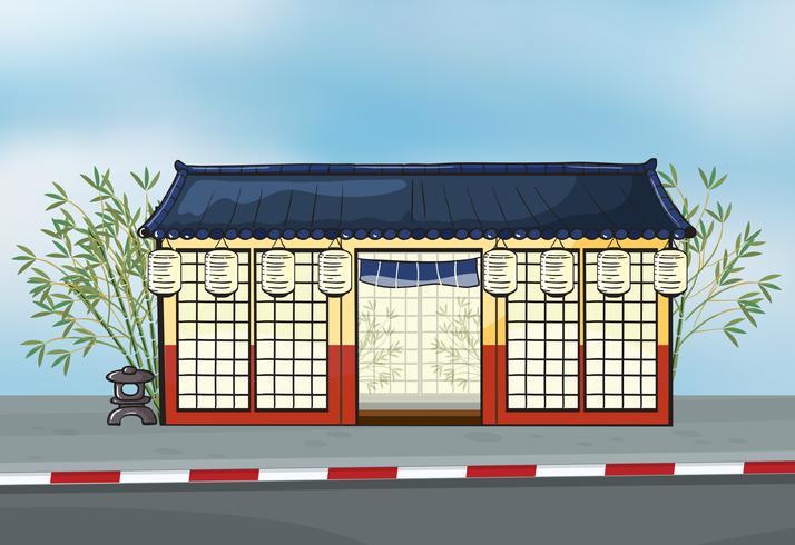 Un ristorante giapponese