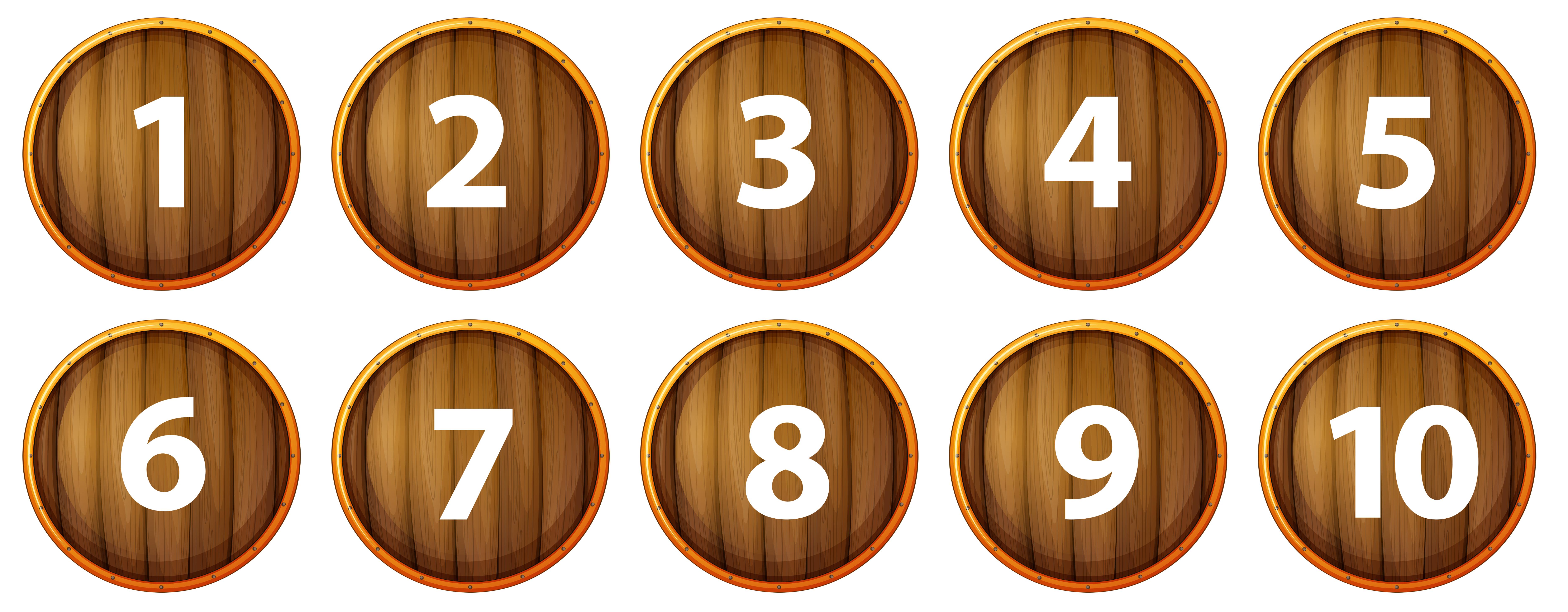 數字icon