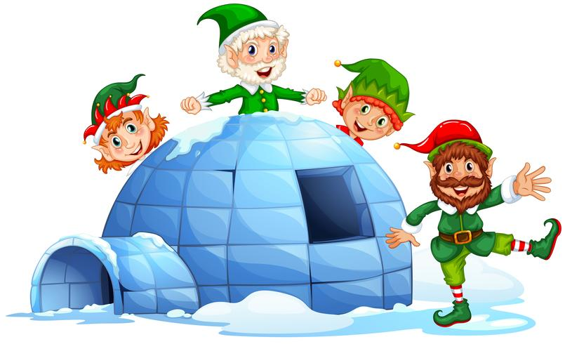Igloo and elves