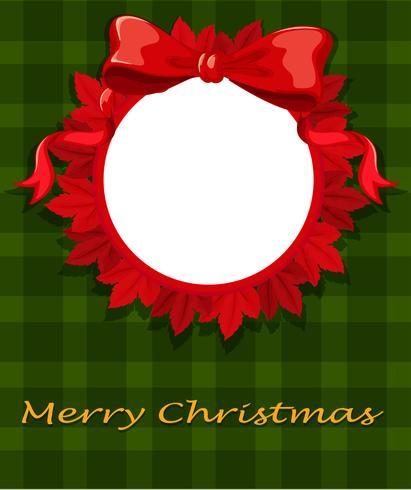 En julkortsmall vektor