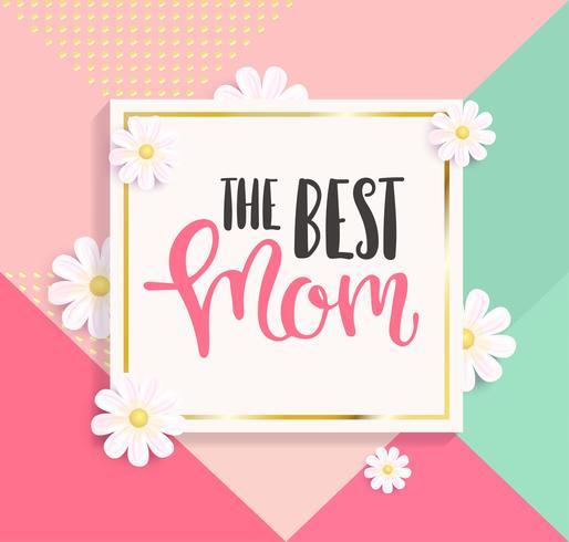 La migliore cartolina d'auguri di mamma.