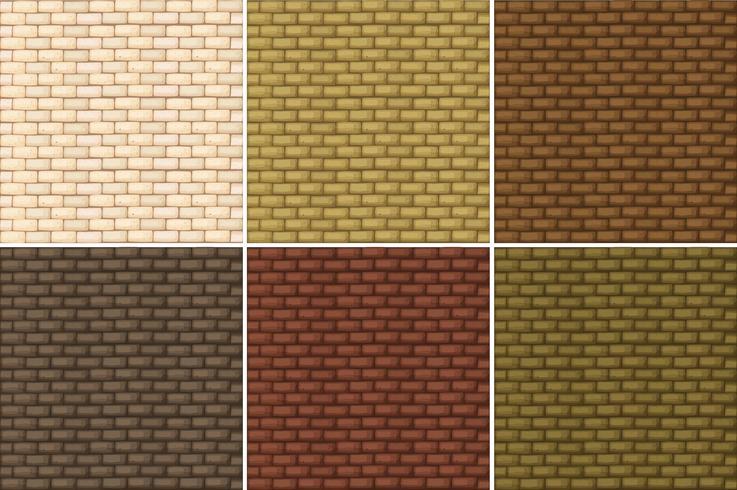 Nahtloser Hintergrund mit brickwalls