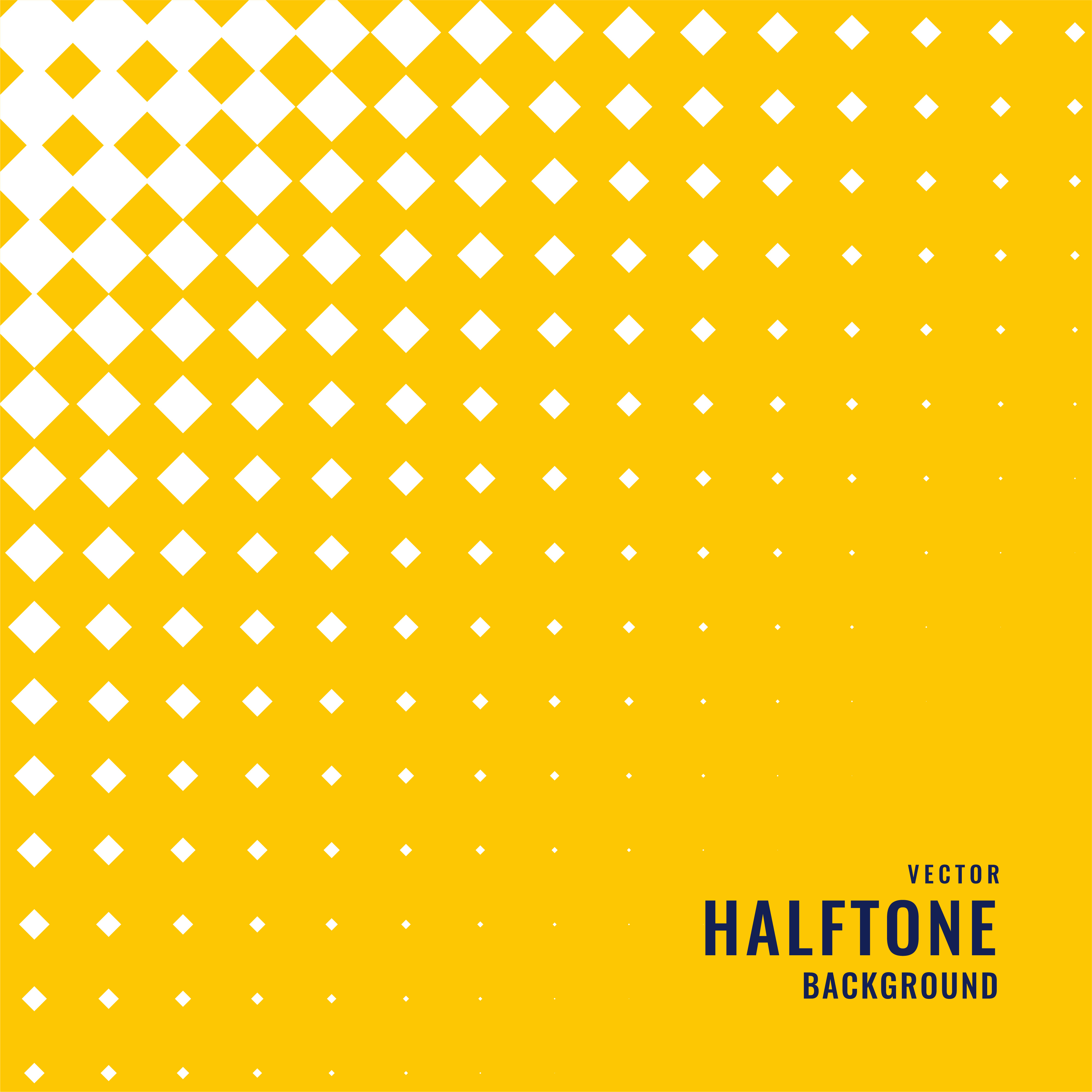 yellow background with white halftone pattern - Download ...