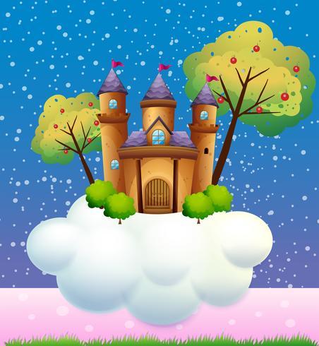 Un castello su una nuvola