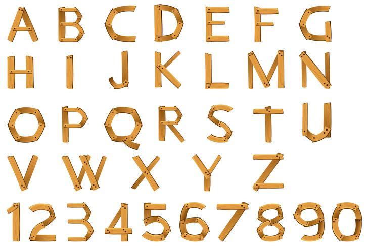 números e alfabetos