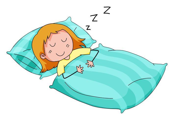 En train de dormir