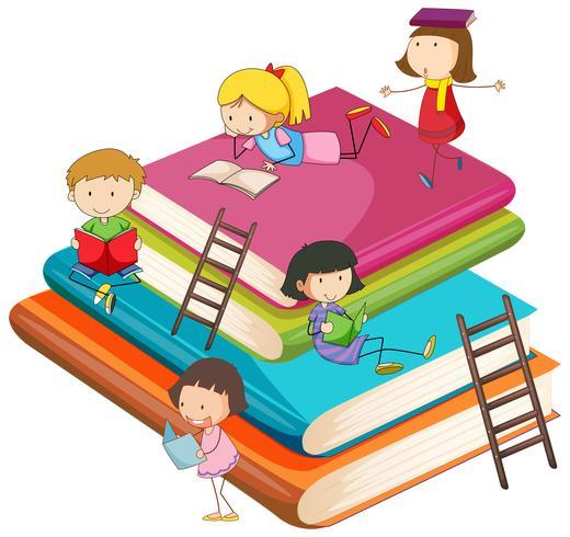 Kinderen met het boek