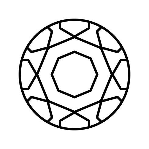 Voetballetje zwart pictogram