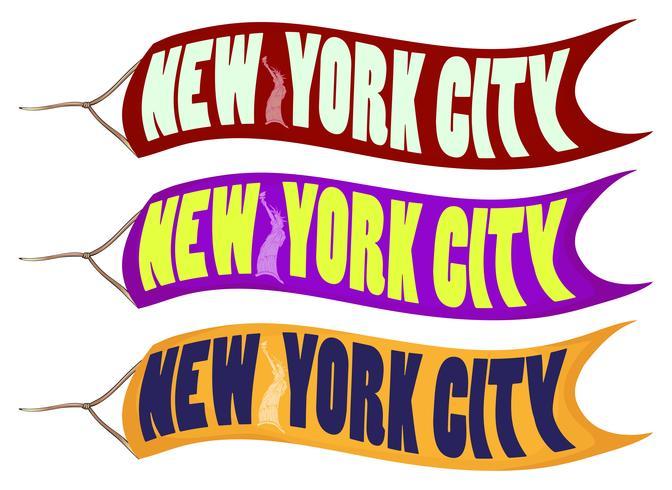 Bannerontwerp voor New York City