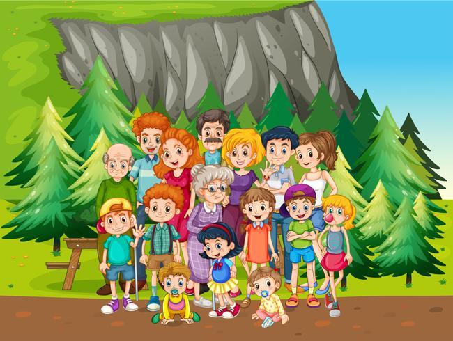 Família e parque