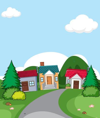 En landsbygdens byplats