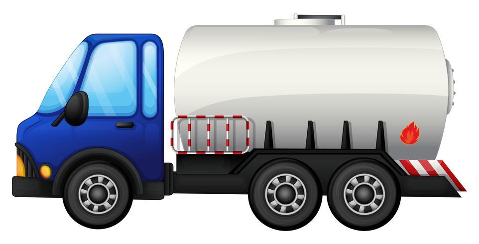 Un carro de combustible