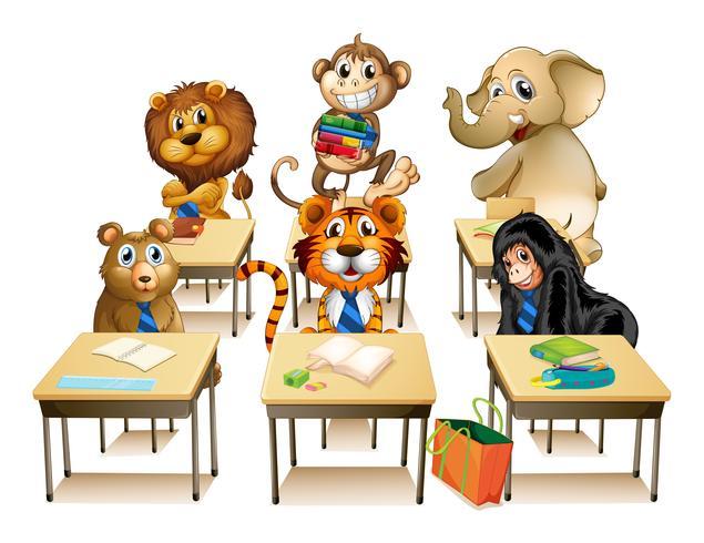 Animales en el aula