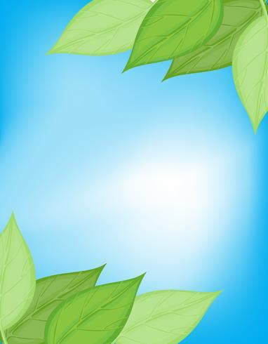 Grüne und blaue Naturkarte