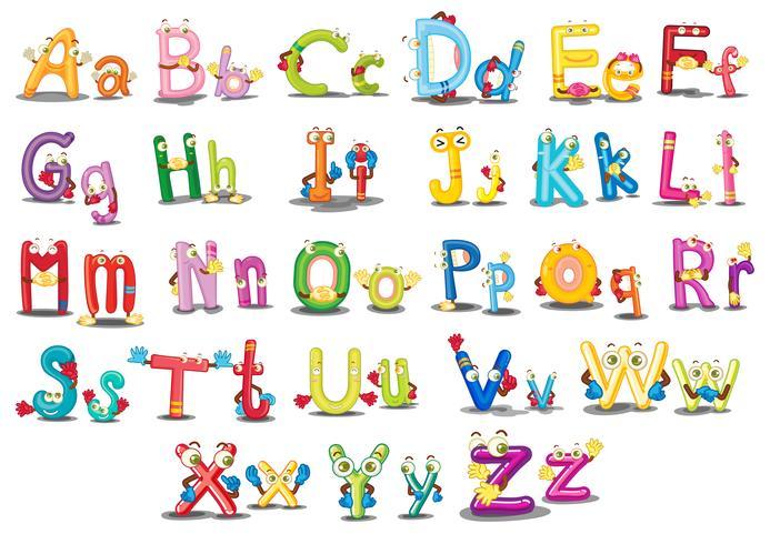 Alphabet characters