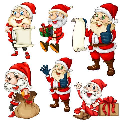 Set di Babbo Natale