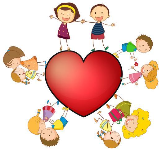 Kinderen en hart