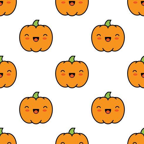Modèle D 39 Halloween Sans Soudure Avec Des Citrouilles Sur