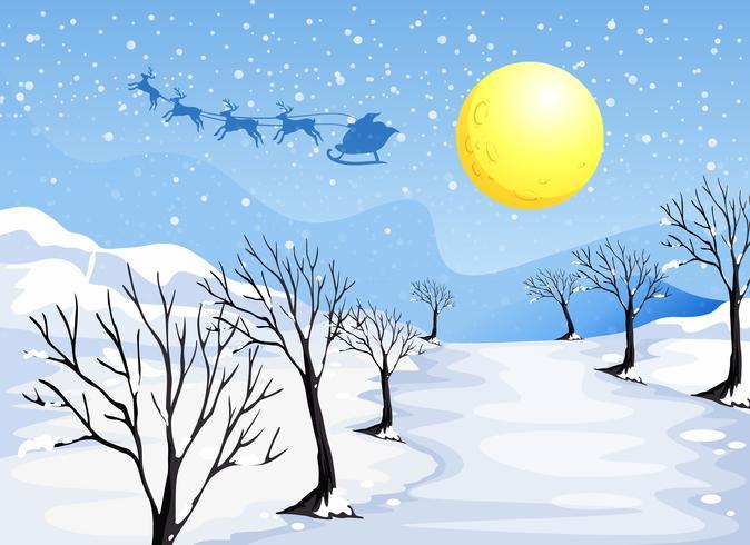 stagione natalizia vettore