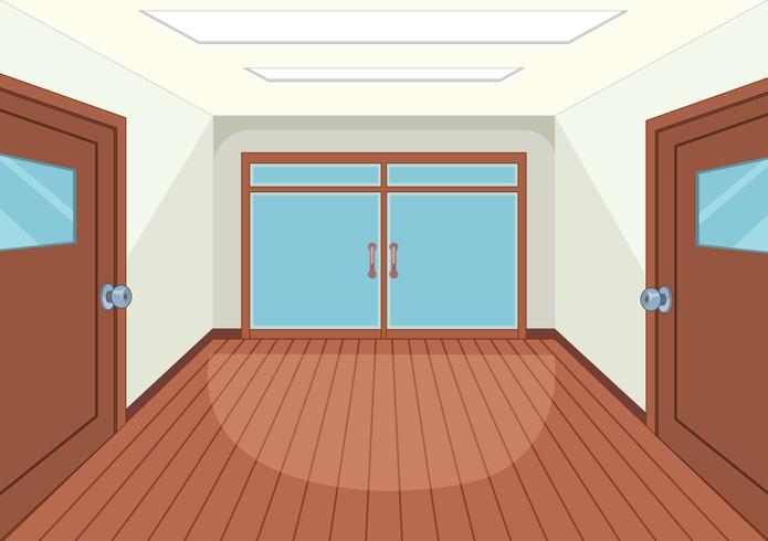 . An empty room interior Vector   Download Free Vector Art  Stock