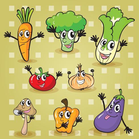 vegetales vector