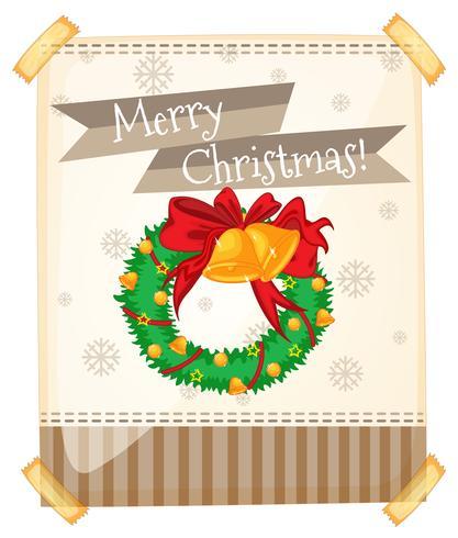 Joyeux Noël avec des ornements