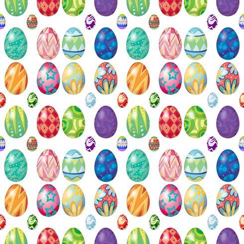 Design senza cuciture con le uova di Pasqua