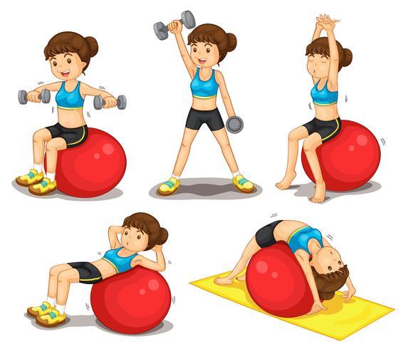 Serie di fitness