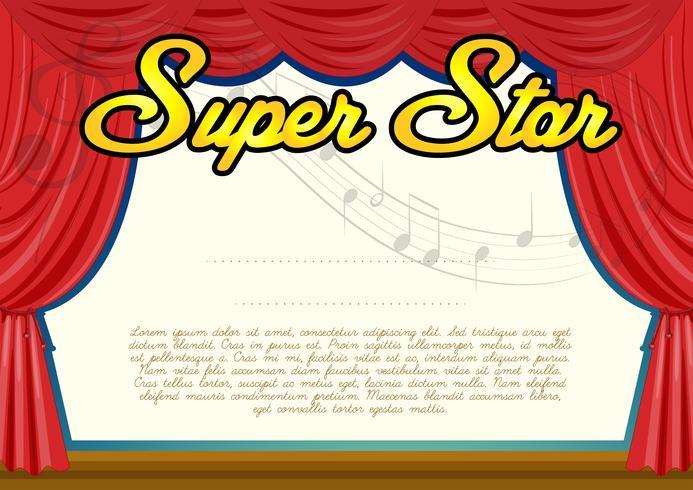 Modello di certificazione per super star