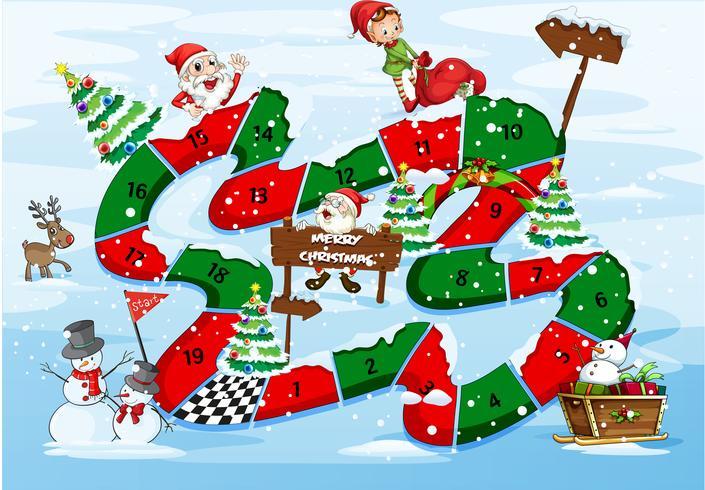 Un jeu de société de Noël