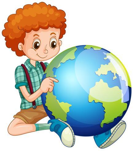 Kleine jongen en de wereld