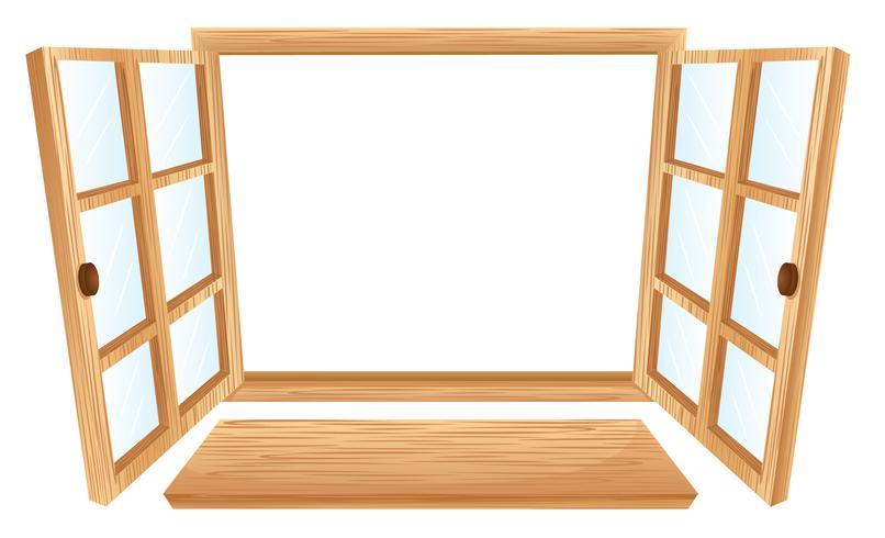 Open raam