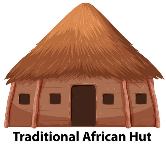 A traditional african hut