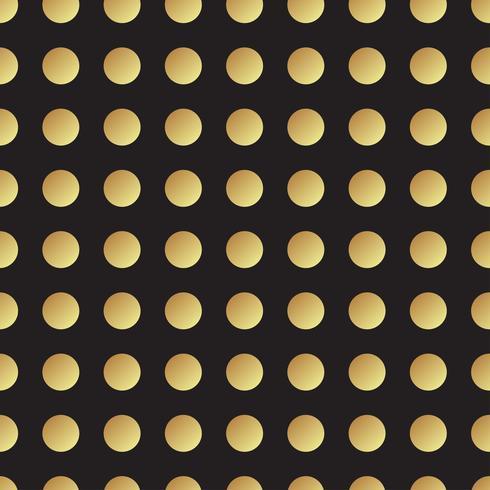 Universal svart och guld sömlöst mönster, kakel.