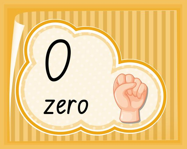 Zero with hand gesture - Download Free Vectors, Clipart Graphics ...