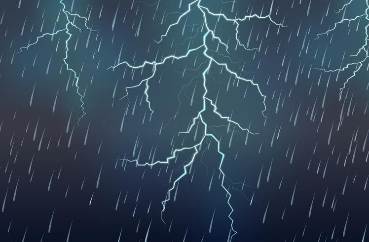 Fulmine e temporale