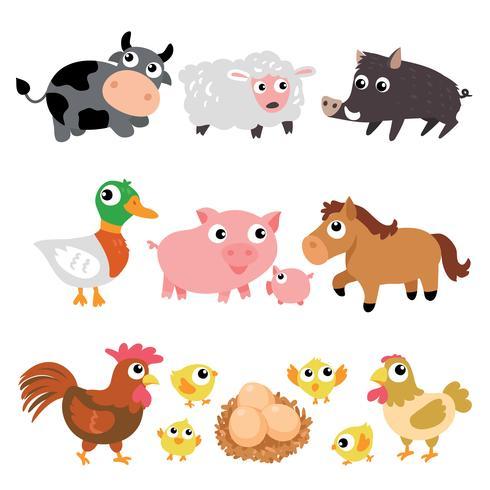 disegno del carattere degli animali