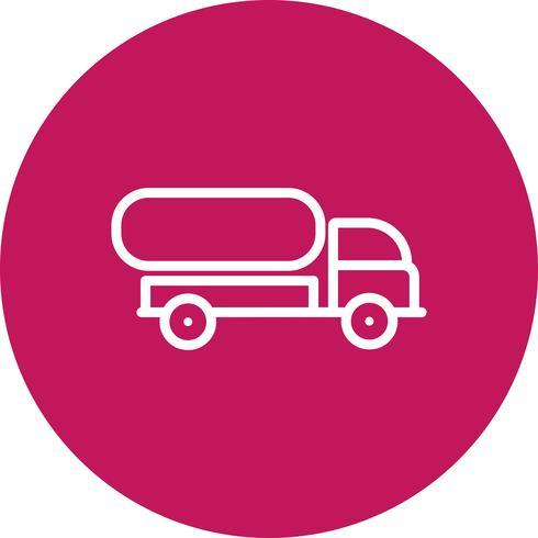 Vector tank vrachtwagen pictogram