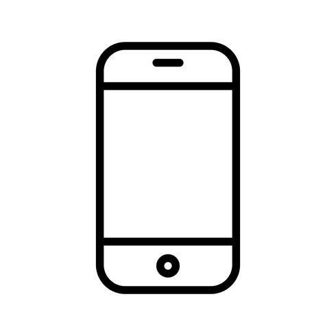 Phone Cell  Icon Vector Illustration