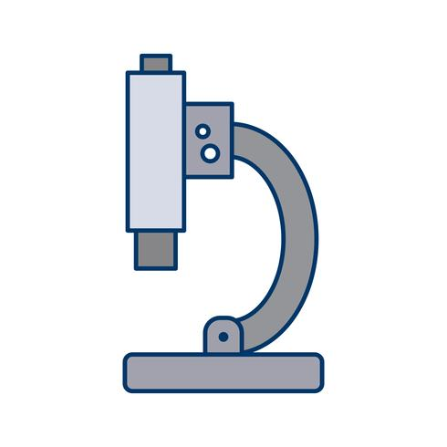 Vector Microscope Icon