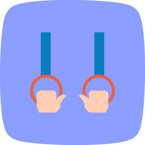 Gymnastik-Ikonen-Vektor-Illustration