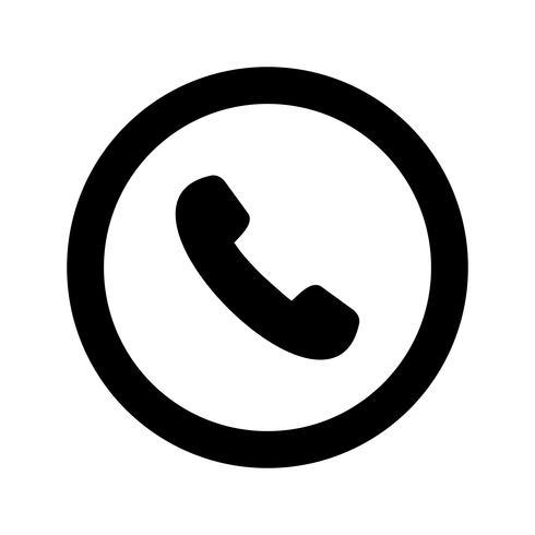 Vector icono de señal de carretera de teléfono - Descargar ...
