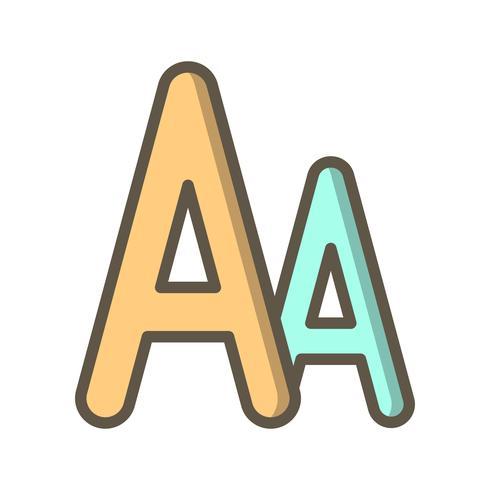 Vektor teckensymbol