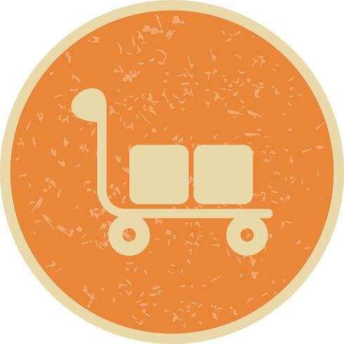 Icona del carrello di vettore