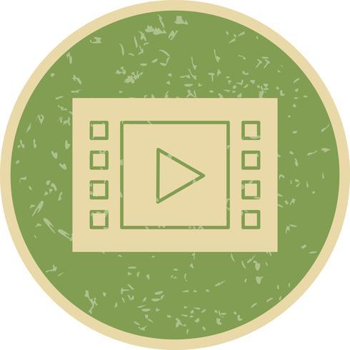 Muziek speler pictogram vectorillustratie