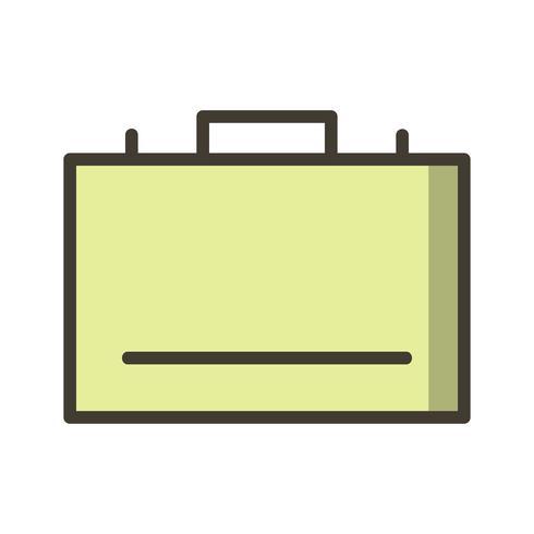 Vector icono de maletín