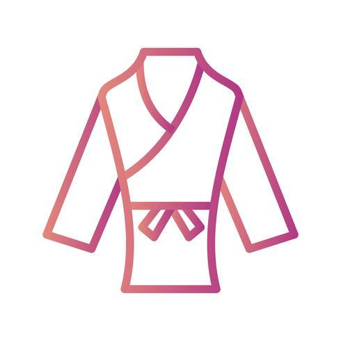 Karate pictogram vectorillustratie