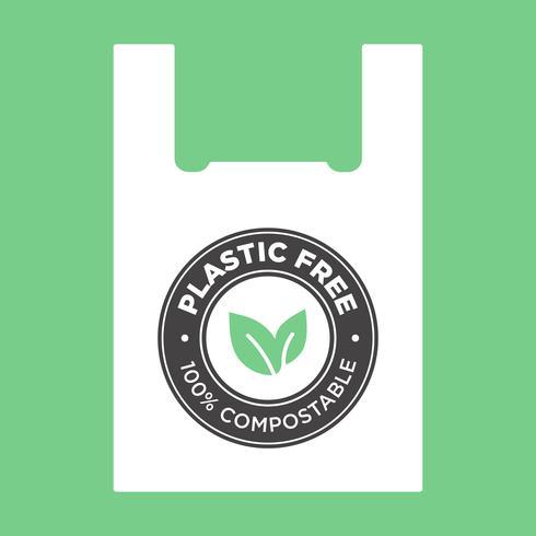 Design för ekologisk väska.