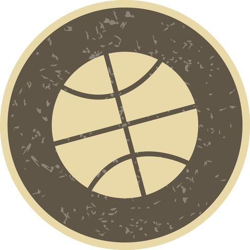 Basket Ikon Vektor Illustration